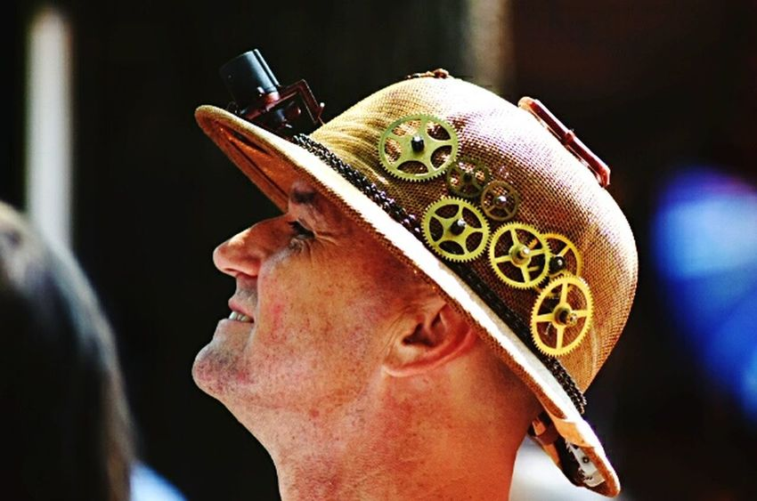 The Week On Eyem Steampunk Hat Decorative Hat Gears Bristol Renaissance Faire NIKON D5300 Nikon Photographer Nikon_photography
