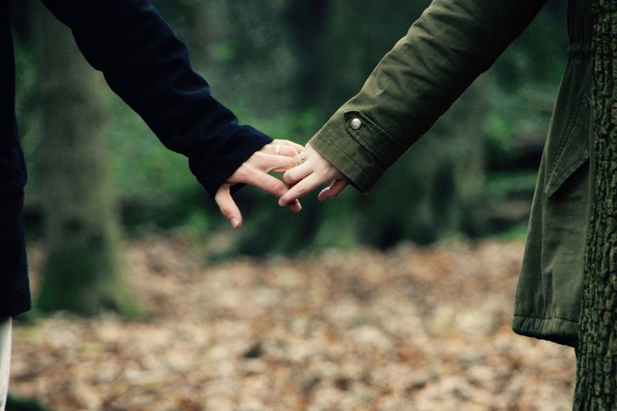 EyeEm Selects Two People True Love Peace Forest Golders Hill Park LONDON❤ London Teamwork Magicplace Love Him Her Human Hand Human Body Part Togetherness Men Real People Outdoors Bonding Day Nature Bridegroom People Adult