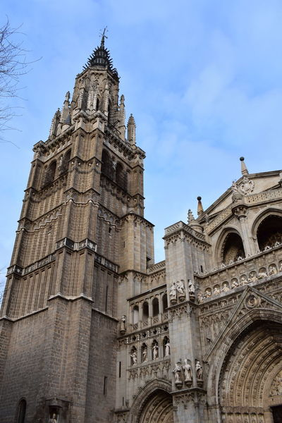 No Filter No Filter, No Edit, Just Photography Toledo Spain Catedral Travel Destinations Architecture History Day Clock Outdoors Sky