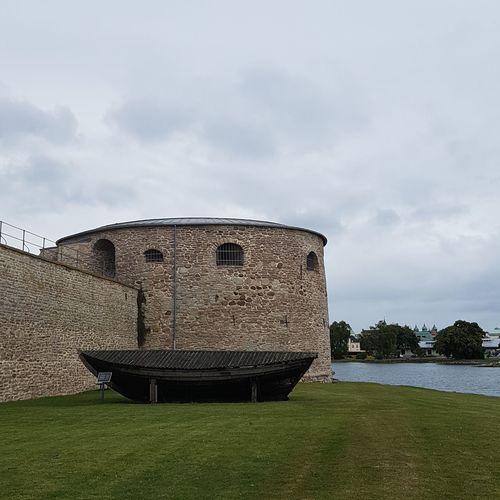 Kalmar Slott, Sweden Castle History Built Structure Medieval Architecture Day No People Grass Sky