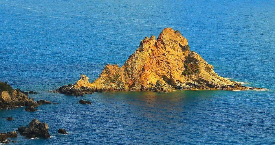 Italy Italia Toscana Toscany Orbetello Argentario Isola Rossa Red Island Sea Sea View Island Isla Beauty In Nature Water Nature Sky