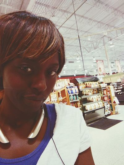Patiently waiting for my sub... Shopping Hungry Lunch At Publix Selfie ✌ Darkskin Natural Beauty Lesbian Pride Iworkhard Beautiful Stoner