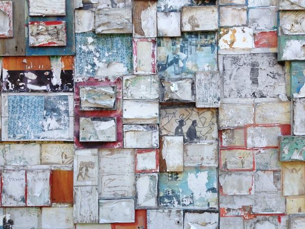 Streetart Vintage Photos Photography Photoframes Patina Distressed Bleached Organic Pattern Frames Geometric Shapes