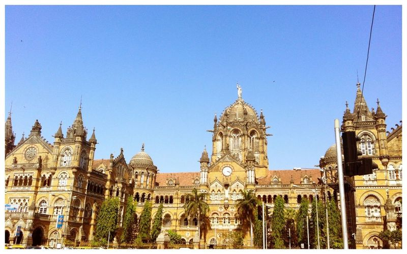 The grandest building of Bombay. The Victoria Terminus