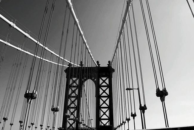New York Newyorkcity Brooklynbridge Brooklyn Bridge / New York 2013 EyeEm Best Shots Blackandwhite EyeEm Gallery Eye4photography  Eye4black&white  EyeEm Enjoying Life From My Point Of View Nikkon Atmospheric Mood Primeshots Daily Life Shotermag
