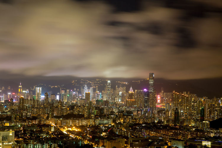 Architecture Building Building Exterior Built Structure City Cityscape Cloud - Sky Financial District  Illuminated Landscape Modern Nature Night No People Office Building Exterior Outdoors Residential District Sky Skyscraper Tall - High Travel Destinations Urban Skyline