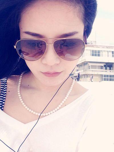Enjoying The Sun Sea Relaxing 1st beach day 2014