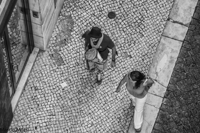 Family!! #blackandwhite #Child #couple #lines #walking Adult Day Full Length High Angle View Lifestyles People Real People