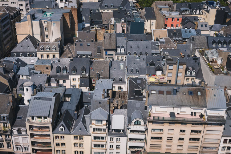 Rooftops of luxembourg city