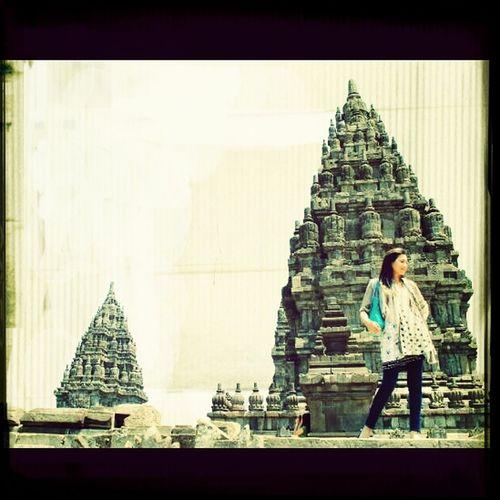 Prambanan Temple, east java That's Me