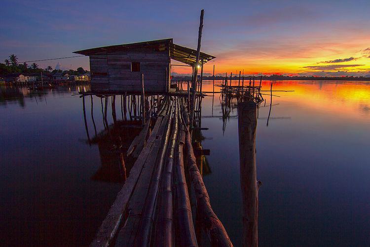 Sunrise di desa