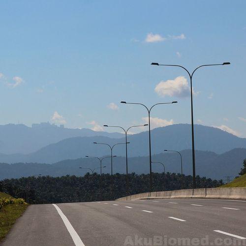 Sungai Buaya exit toll Panoramic Photography Photo Panorama