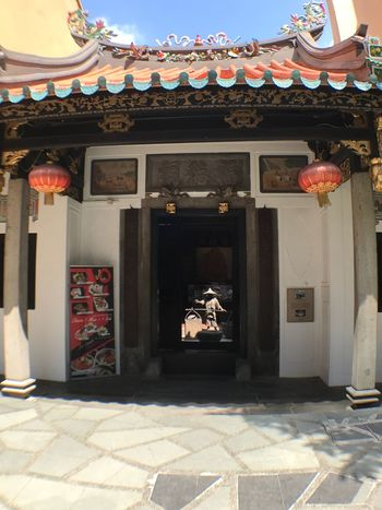 1900s conservation shop front. Architecture Built Structure No People Day Building Exterior Outdoors Shophouse Close-up Chinese building