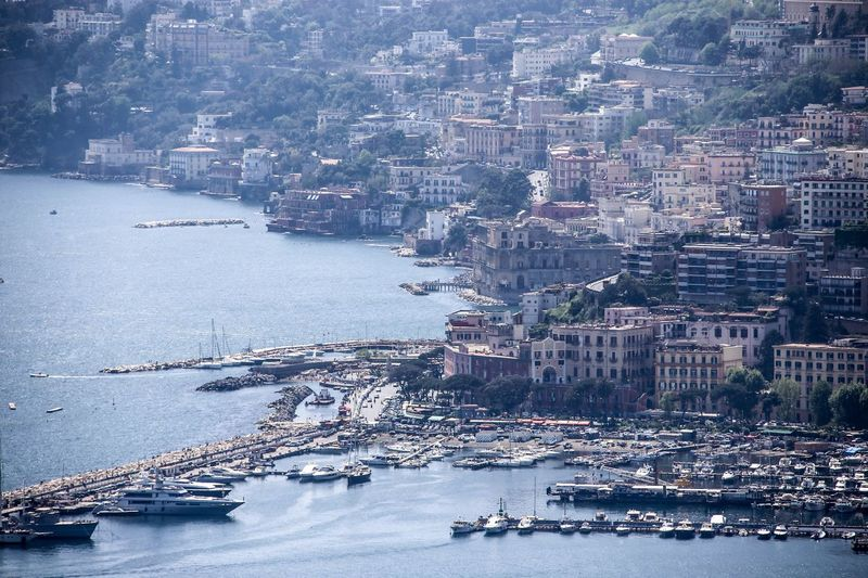 Napoli Naples Napoli Mergellina, Naples Mergellina Architecture Building Exterior Built Structure City Water Building Transportation Sea Day