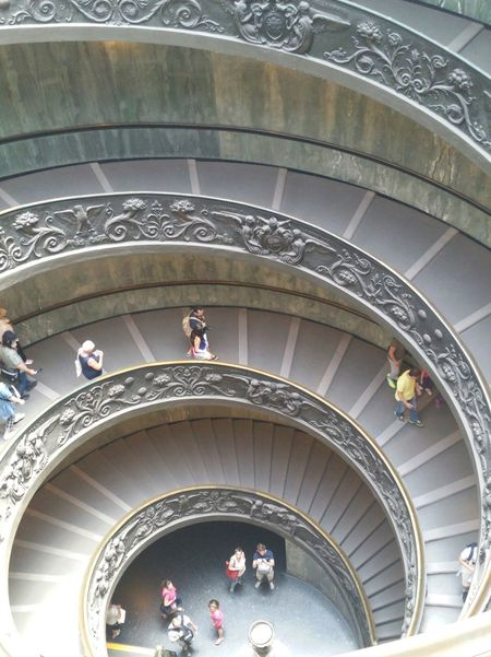 Popular Photos Open Ediit Taking Photos Relaxing Vatican Espiral Bramante Staircase