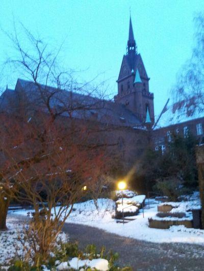 Garten Simeon im Wechsel der Zeit (Winter) Simeon Garten Im Jahrverlauf