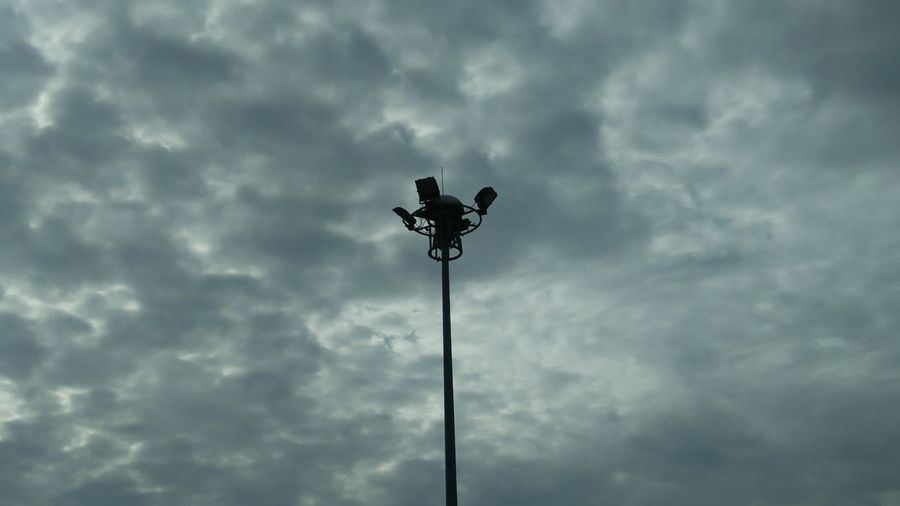 Muang, Nonthaburi / Thailand July 9 2018: Rainny Sky in the Morning and Lamp post Lamp Post Lamppost Lamplight Lamp Lamp Design Rainy Days Rainy Sky Sky And Clouds Sky Sky_collection Morning Weather Vane Sky Cloud - Sky