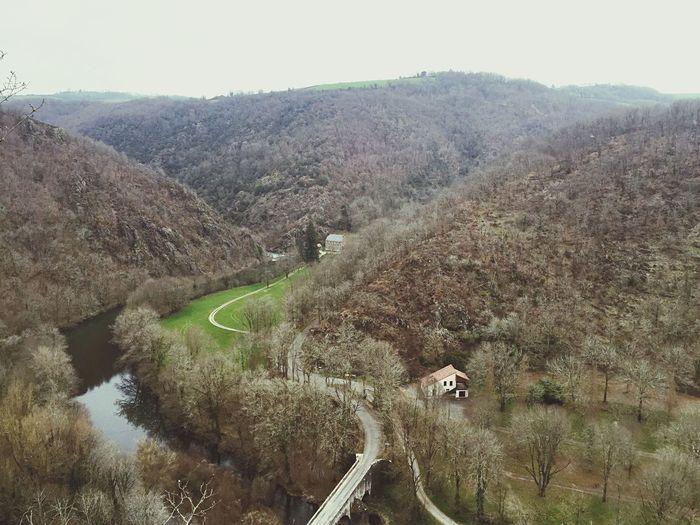 Dans le sud-ouest France Countryside
