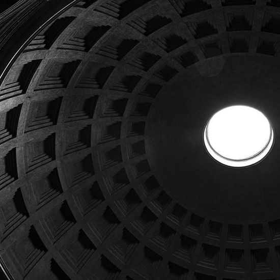 Pantheon Temple Ancient Myrome Rome Architecture Shapes Lines History Lifeasiseeit Johnnelson
