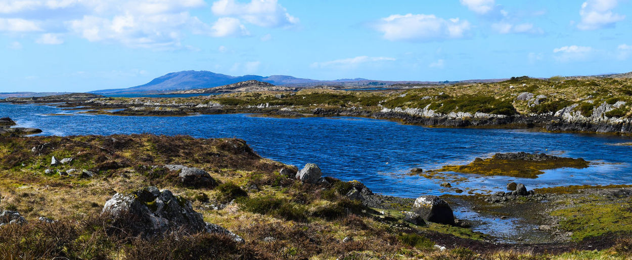 Connemara Ireland The Great Outdoors - 2015 EyeEm Awards The Traveler - 2015 EyeEm Awards EyeEm Nature Lover Nature_collection Landscape_Collection Beautiful Travel Photography Streamzoofamily Exploring Connemara Landscapes With WhiteWall The KIOMI Collection Inlet Green Blue Tranquil Scene Tranquility Blue Wave The Great Outdoors With Adobe Lost In The Landscape Connemara