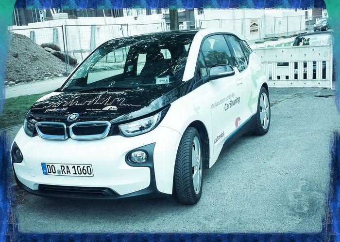 Elektro Auto BMW.