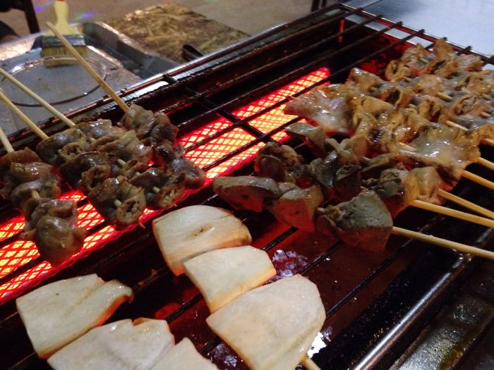 Food Food And Drink Barbecue Grill Healthy Eating Barbecue Grilled Seafood No People Freshness Preparation  High Angle View Meat Close-up Indoors  Ready-to-eat Day