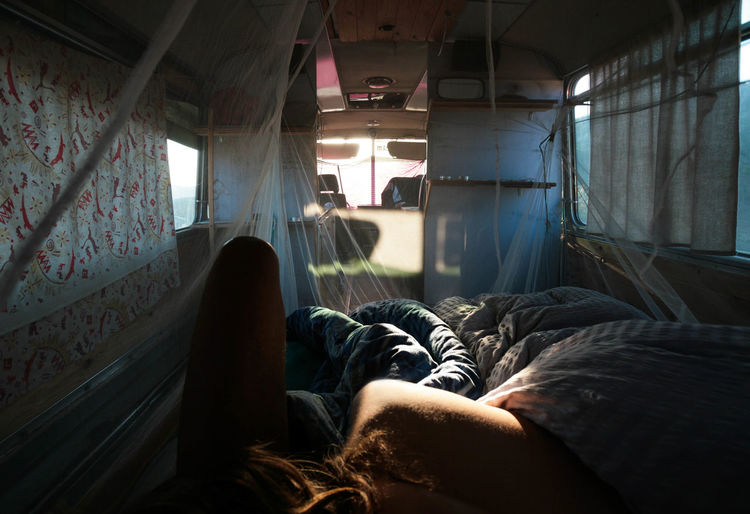 In the Wwoofer's Bus Adults Only Awake Bed Bedroom Bus Bush Cam Camper Campervan Curtain Hippie Hippielife Human Body Part Miles Away Morning Morning Sun Real People Sleepy The Great Outdoors - 2017 EyeEm Awards Traveling Traveling Photography Trip Young Adult Young Women Place Of Heart Let's Go. Together. Sommergefühle Breathing Space Second Acts