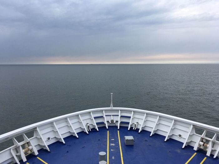 Sky Water Horizon Horizon Over Water Cloud - Sky Sea Nature Travel Travel Destinations Architecture Day Scenics - Nature Beauty In Nature No People Tourism Outdoors Environment Passenger Craft