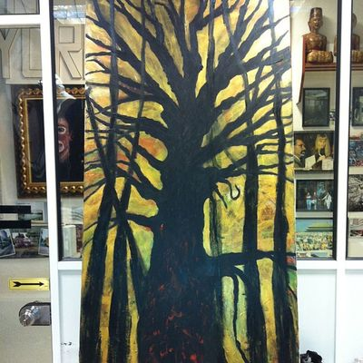 Sin título Art Arte árbol Negua casi terminado
