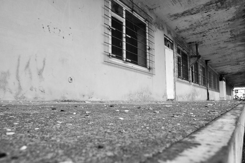 Architecture Built Structure Building Exterior Building Window No People Day Wall Wall - Building Feature Outdoors Abandoned Surface Level Empty Old Footpath City Nature Selective Focus House Entrance