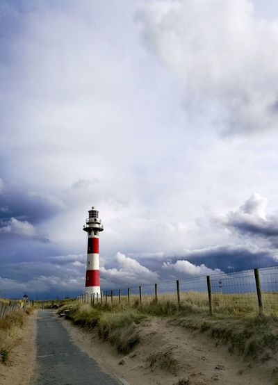 Lighthouse Cloud - Sky Tranquil Scene Tranquility No People Beauty In Nature Dunes Nieuwpoort Belgie Lighthouse, Beacon, Light, Guide, Tower, Warn, Lighthousephotography Lighthouse HuaweiP9Photography Nature Beauty In Nature