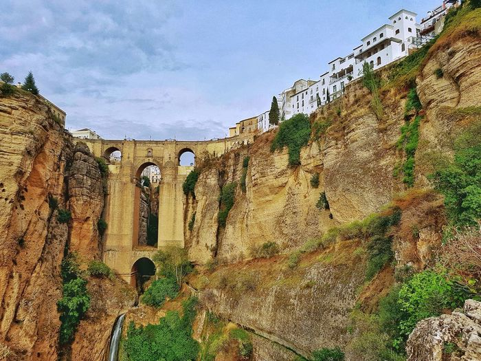 Ronda Siteseeing Site Town City Architecture Scenic Tourist Attraction Travel Travel Photography SPAIN Spanish Europe destination Andalusia Andalucia Spain Bridge Waterfall Gorge