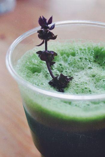 Weizengrassaft. Berlin Fresh Green Health Juice Drinking Drinks Plant Power Vitamins