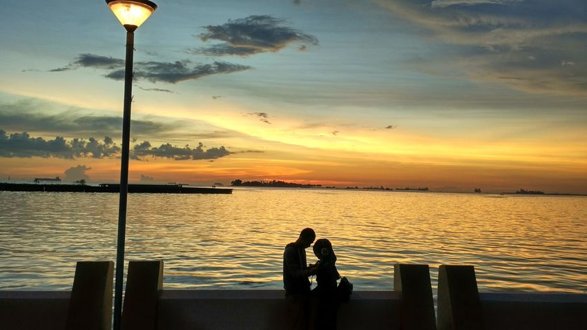Losari With Love part 1 PhonePhotography Siluet Makassar Sulawesi Selatan