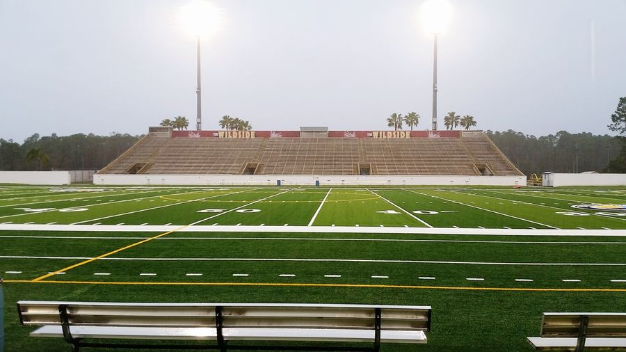 Stadium Sport Outdoors No People Playing Field Peewee Football Championship Game Day