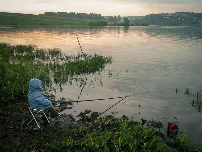 Nature Lake Fishing Kid The Great Outdoors - 2015 EyeEm Awards Novokuznetsk Kuzbass Siberia Russia