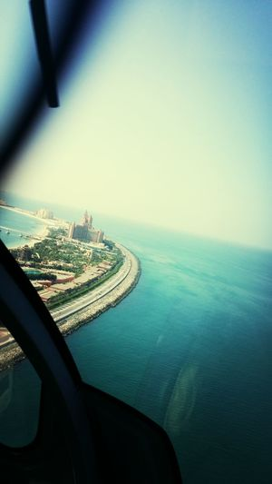 Picture from the helicopter