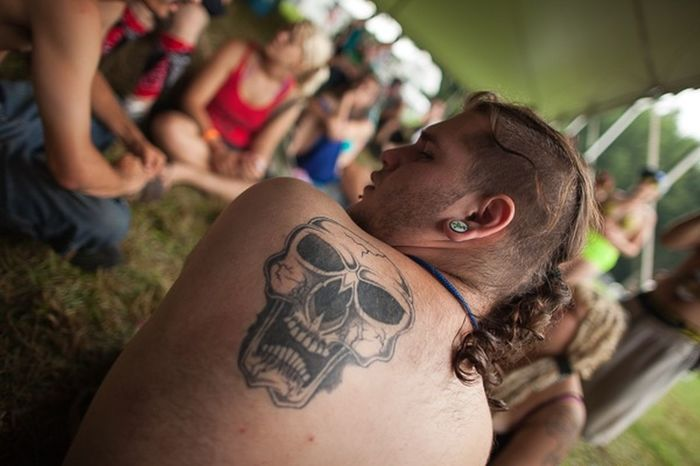 Gathering Of The Juggalos Skull Tattoo Festival