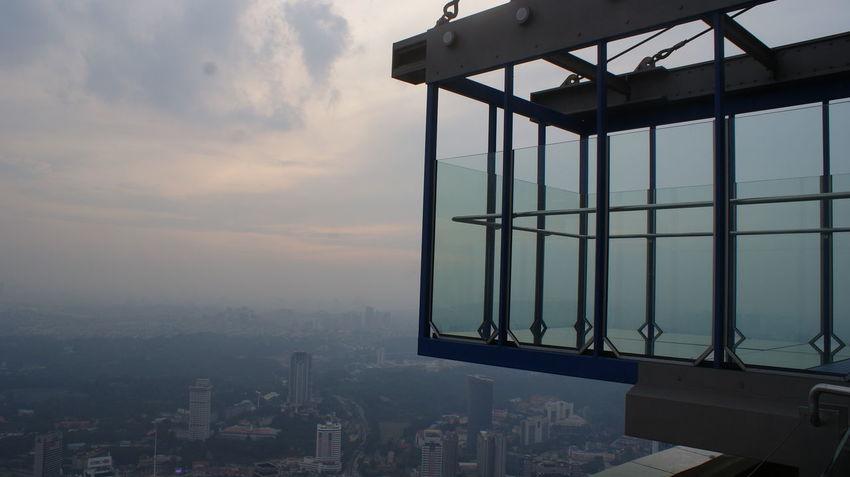 Asian Trip 2017 ASIA Glass Box High Kuala Lumpur Kuala Lumpur Tower Travel Skyscraper Top Of Tower Travel Destinations