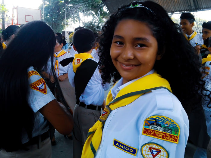 Conquistadora Adventista Boy Women Park Portait Girl Child Adventista Volunteer Social Responsibility Social Services