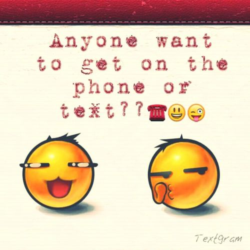 Anyone!