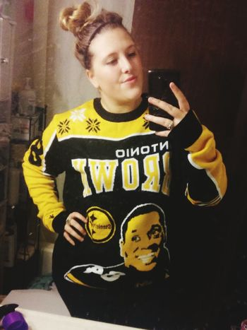 Happiness is getting your Antoniobrown Sweater 84