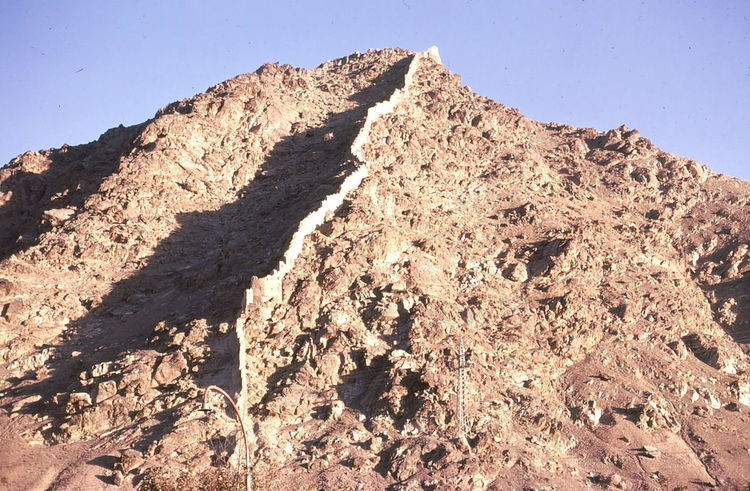 Mountain Wall Afghanistan Arid Climate Beauty In Nature Blue Sky Composition Dividing Line Geology Hi Kabul Landscape Low Angle View Mountain Nature No People Non-urban Scene Outdoor Photography Physical Geography Rock Formation Rough Scenics Sunlight And Shadow Tranquil Scene Tranquility Wall