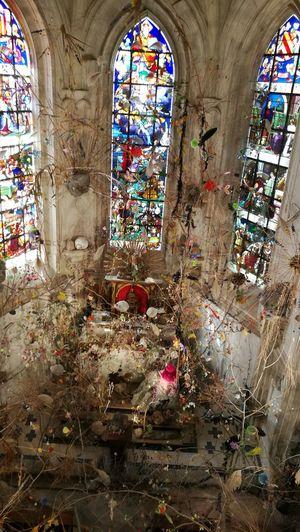 Art Chapelle Château De Chaumont-sur-Loire Multi Colored Religion Spirituality