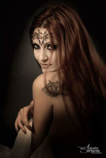 Inspired Luis Royo One Young Woman Only Shirtless Young Adult Only Women Adults Only One Person Beauty Adult Fantasy Arts Culture And Entertainment Young Women Beautiful Woman Princesse Studio Shot Human Body Part Fashion Black Background Portrait Indoors  Women Long Hair Beautiful People EyeEm Best Shots Eyevision. Elégance EyeEm Selects EyeEmNewHere