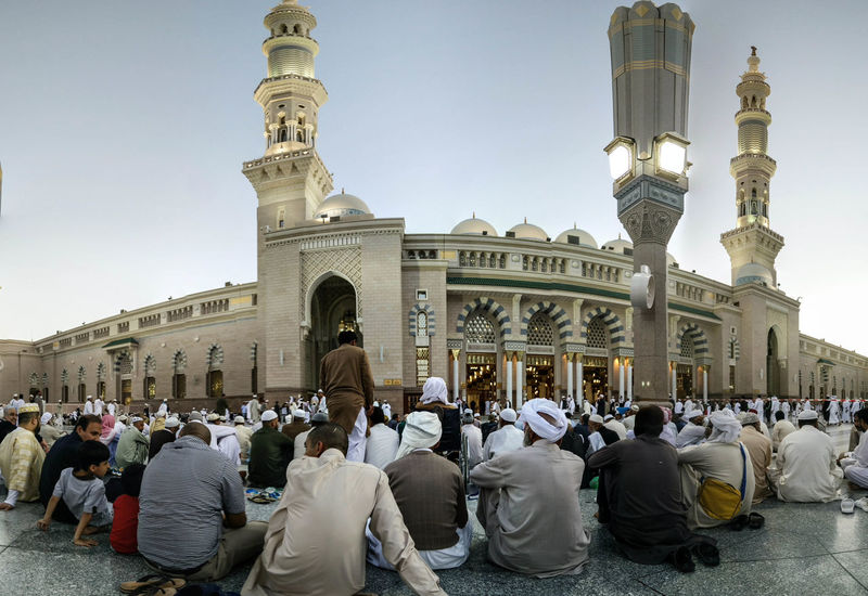 Architecture City Crowd Large Group Of People Makkah Mosque People Place Of Worship Religion Spirituality