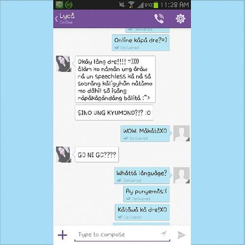 Si @lycavlnc yan ehXD My most epic friendXD Laughtripconvo