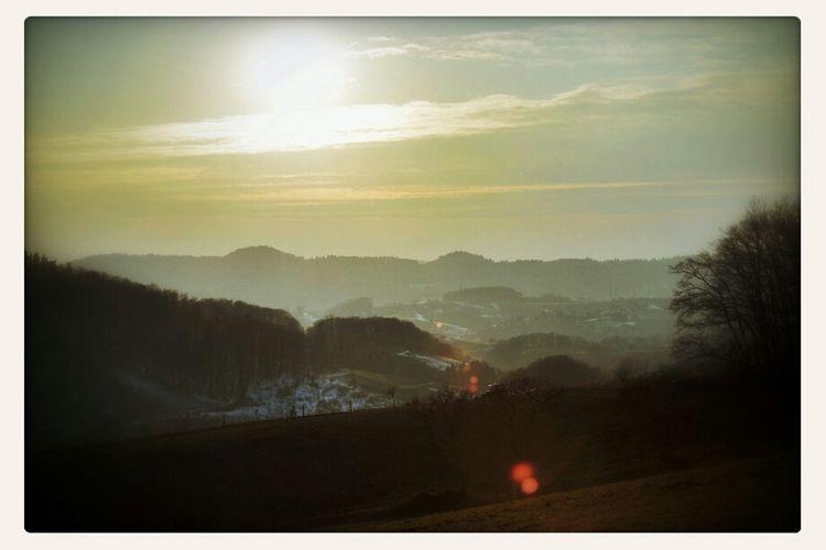 Sun Landscape