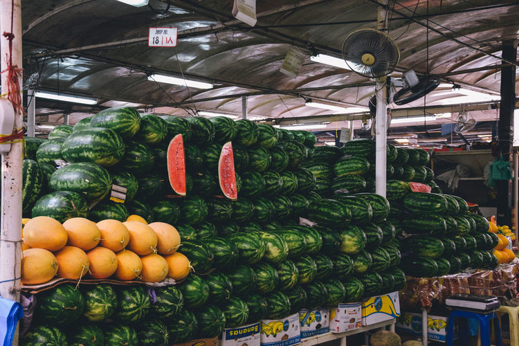 Food And Drink Healthy Eating Retail  Market Choice For Sale Food Vegetable Wellbeing Variation Large Group Of Objects Freshness Market Stall Abundance Arrangement Retail Display Fruit Business No People Indoors  Sale Order EyeEm Best Shots EyeEmNewHere EyeEm Gallery Melon