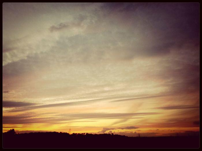 Sunset Enjoying Nature Beautiful Sky